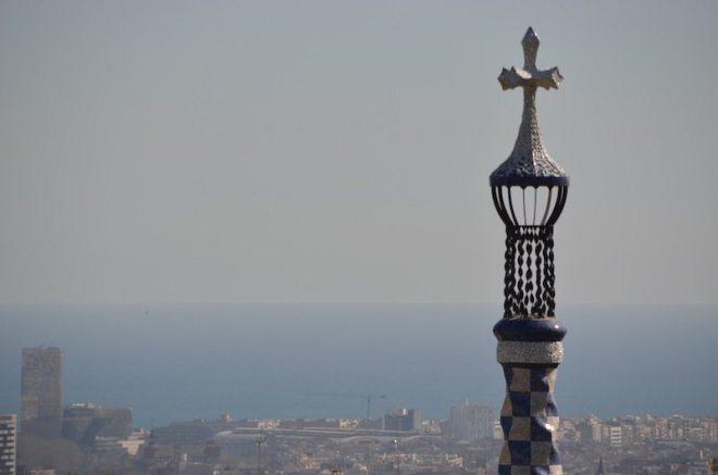 Tipps für Barcelona: Aussicht vom La Placa im Park Guell