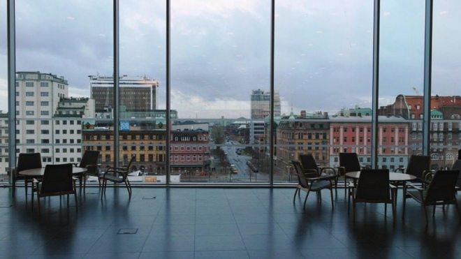 Urlaub in Malmö: Tipp - Ausblick von der Universitätsbibliothek (Main Campus)