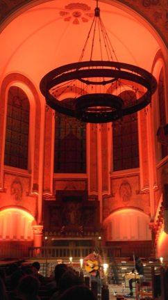 Urlaub in Malmö: Konzert in der Kirche (Triangeln)