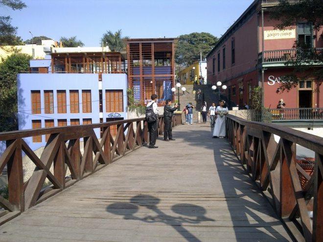 Barranco: alternatives Viertel in Lima, Peru