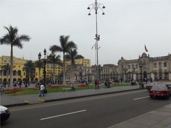 Das Zentrum von Lima - Sehenswürdigkeiten, Peru