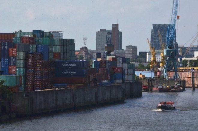 Freihafen in Hamburg: einer der schönsten Orte und toll für einen Spaziergang