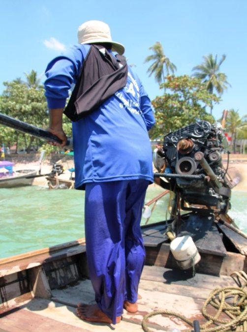 Ausflug mit dem Longtailboot zu den kleinen Inseln in Krabi