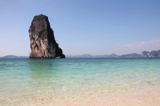 Schönster Strand in Thailand: Koh Poda bei Ao Nang
