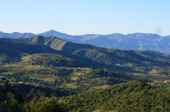 Die Berge von Swaziland, Afrika