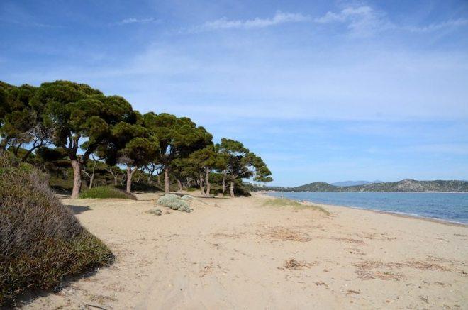 Nur eine Stunde von Athen entfernt - Der Schinias Strand im Norden Athens