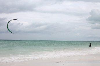 Kitesurfing in Paje auf Sansibar