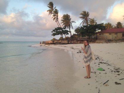 Sonnenuntergang in Nungwi auf Sansibar