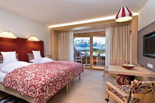 Hotelzimmer im Bergresort Werfenweng in Österreich - Wellnessurlaub in den Bergen