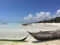 Strand von Paje bei Ebbe - Backpacking-Tipp für Sansibar-Rundreise