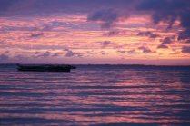 Sonnenuntergang Sansibar Michamvi Kae