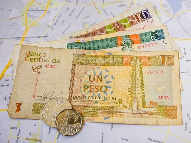 Kuba Reisevorbereitung: Währung auf Kuba