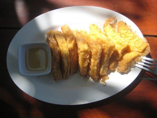 Nein, diese saftigen French Toasts gab es an diesem Tag nicht zum Frühstück:
