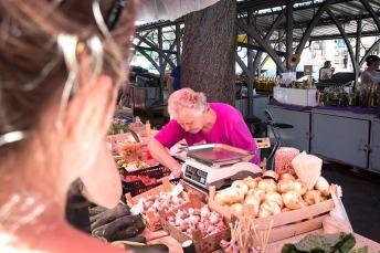 Der Markt in Pula - Kochkurs mit Goran in Kroatien
