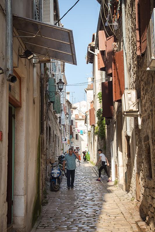 Romantisches Rovinj - Die Altstadt mit ihren engen Gassen