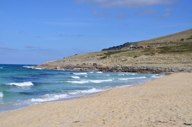 Einer meiner Mallorca Highlights: Der Cala Mesquida Strand