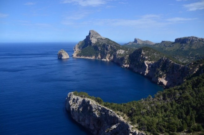 Mallorca Highlights: Steilküste Cap Formentor im Norden Mallorcas
