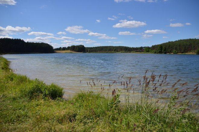 Es gibt viele viele Seen in Polen