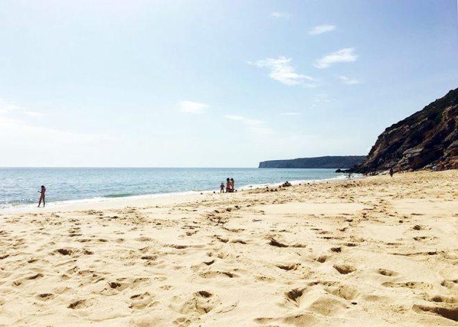 Schönster Strand auf der Portugal Route im Südwesten
