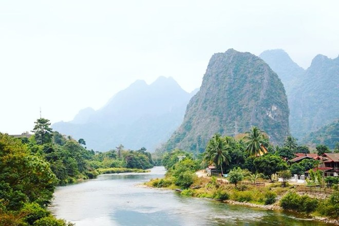 Laos Backpacking Route - Tipps für eine Rundreise z. B. Vang Vieng