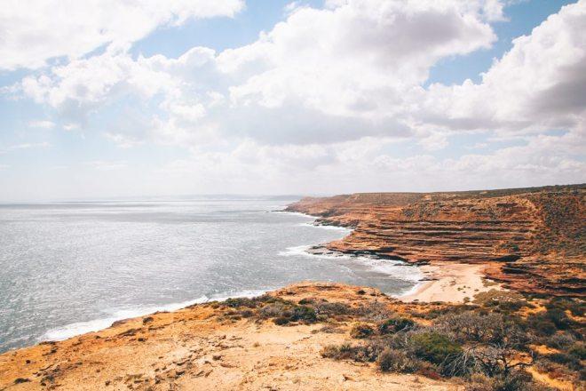 Westaustralien Route Roadtrip - schönste Strände bei Kalbarri