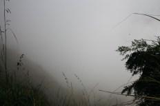 Schlechtes Wetter im Hochland von Sri Lanka - wie hier in Ella