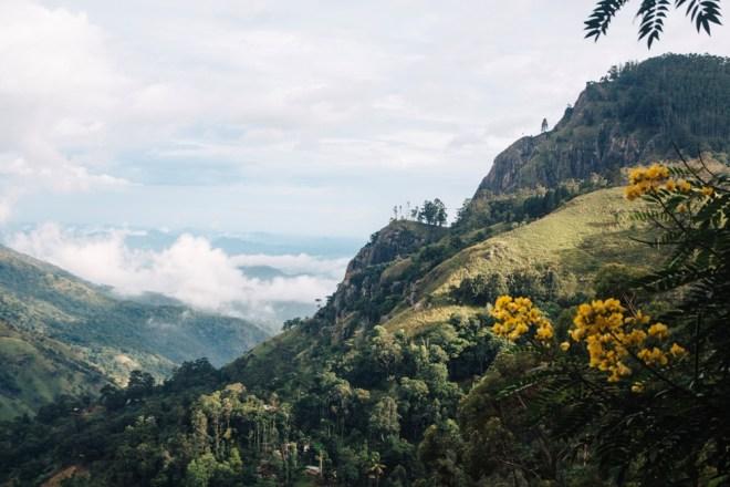 Sri lanka Backpacking im Hochland von Ella