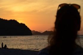 Sonnenuntergang am Tanjung Rhu Beach auf Langkawi