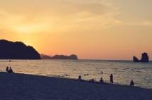 Schönster Sonnenuntergang am Tanjung Rhu Private Beach auf Langkawi