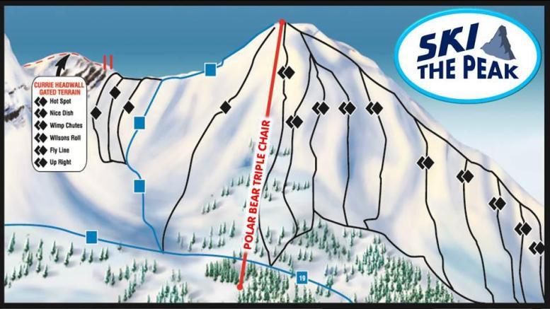Polar Peak Trail Map
