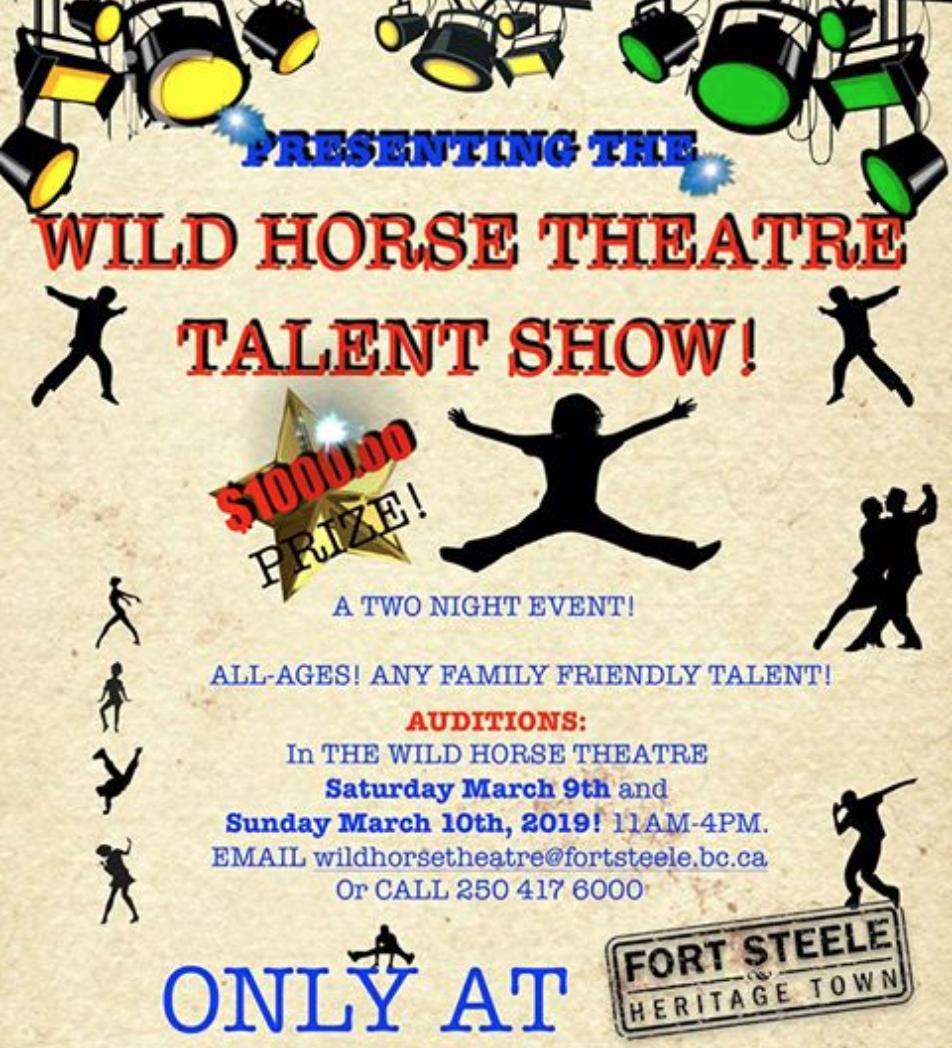 Wild Horse Theatre Talent Show