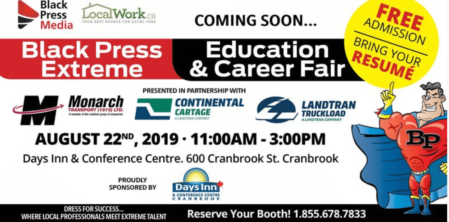 Blackpress Extreme Education and Career Fair