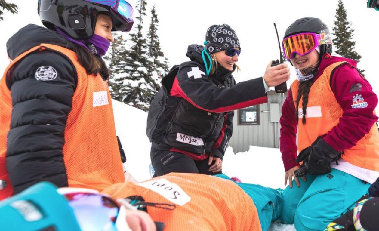 SheJumps presents Wild Skills Junior Ski Patrol