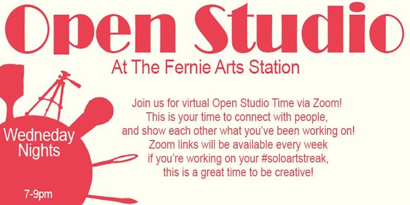 Fernie Arts Station Open Studio