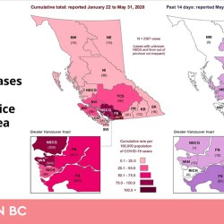 BC Covid-19 Map reveals East Kootenays Numbers