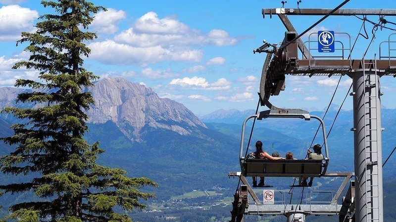 Fernie Alpine Resort Summer Opening Day