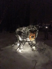 Into The Woods - Fernie Lantern Festival 2016 - Black Bear Lantern
