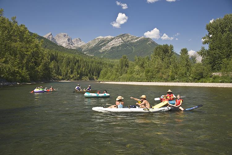 Elk River float