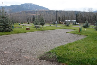 Fernie RV Resort -deluxe back in