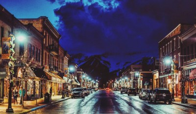 Fernie downtown