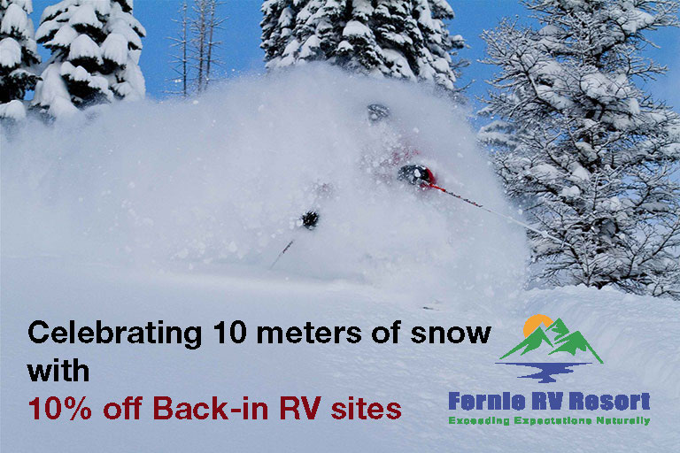 Ten Meter's of Snowfall Discount
