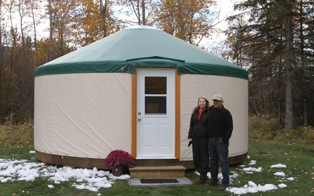 Fernie's Cozy Winter Yurts