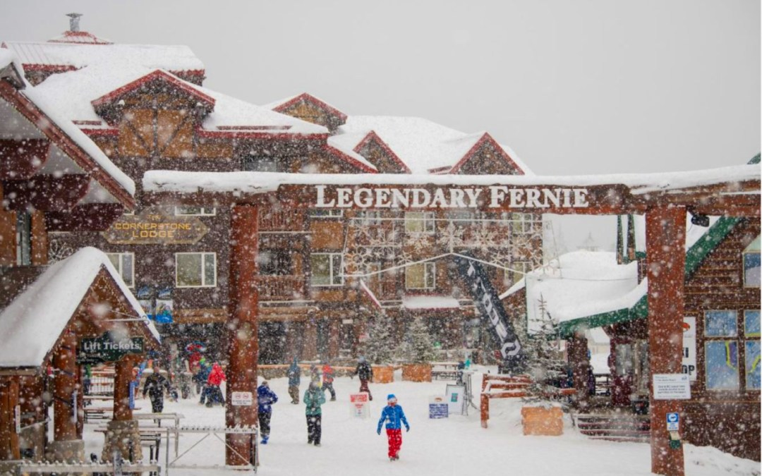 Fernie Winter fun is happening!