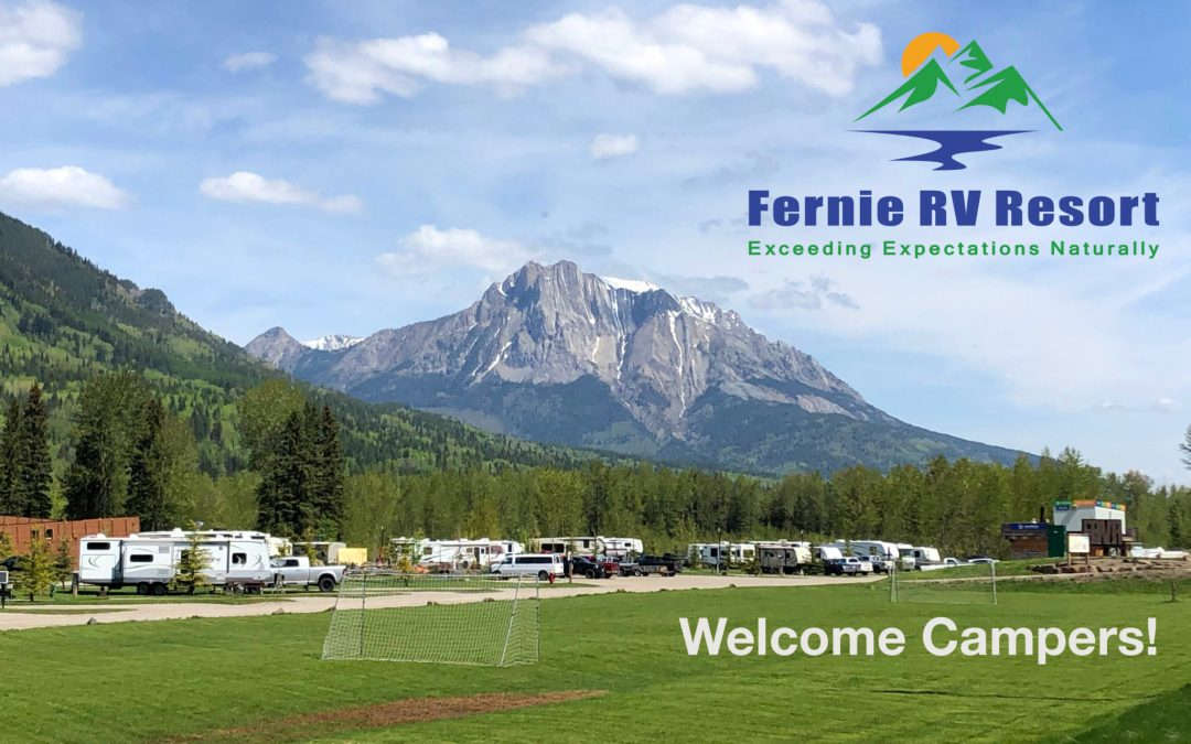 The Fernie RV Resort Welcomes Campers
