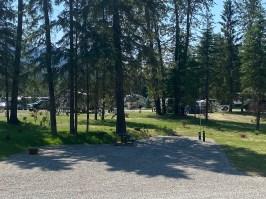 Fernie RV resort new riverside site