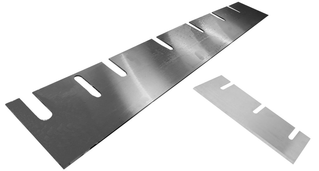 UK Manufactured scraper blades and drum dryer blades by Fernite of Sheffield Ltd