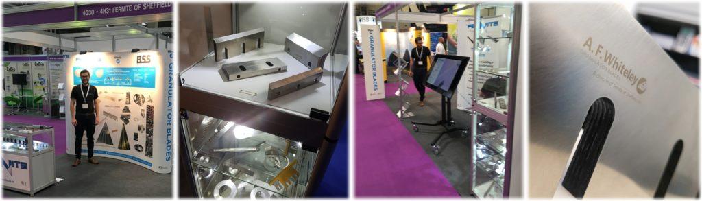 Fernite Machine Knives and A. F. Whiteley Granulator Blades at RWM 2018