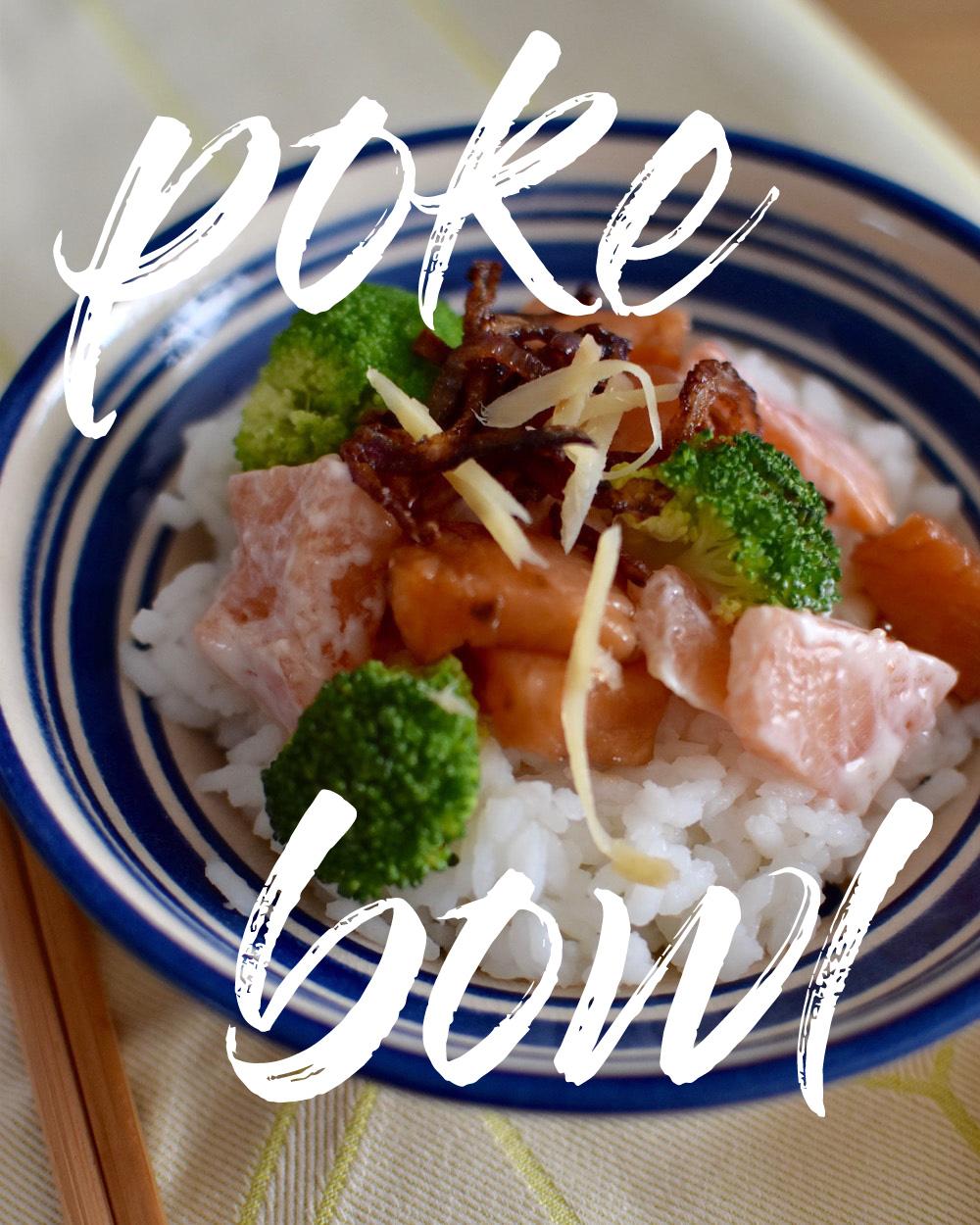 Poke Bowl Salmon