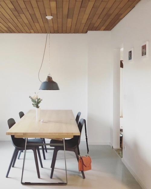 Esszimmer house on fernlane Jolg Industrial Lamps