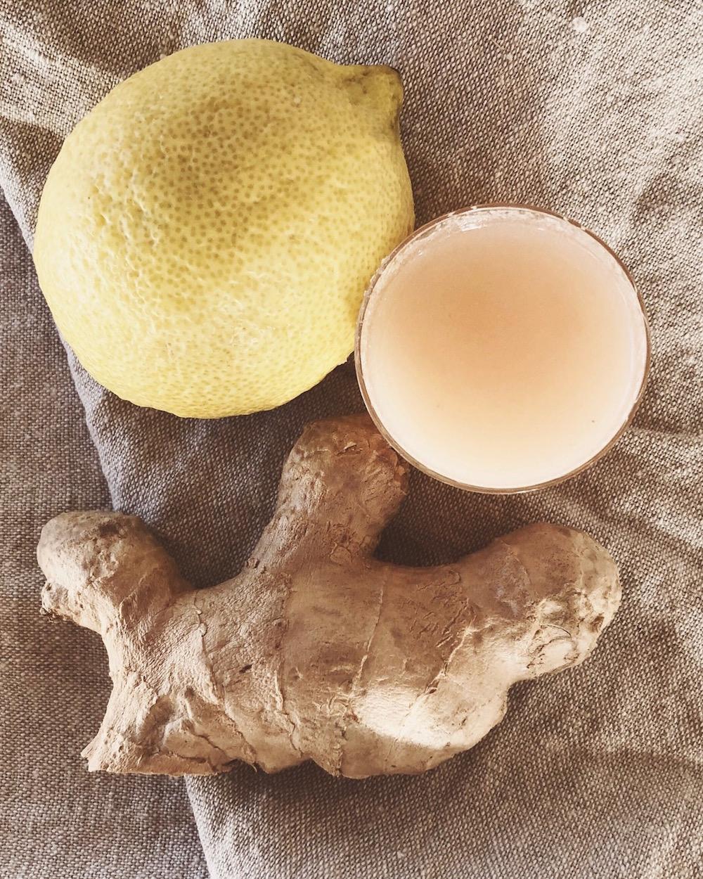 Pimp dein Immunsystem mit Ginger Shots / Ingwer Shots